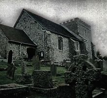 St.Nicholas in Bramber by Larry Lingard/Davis