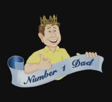 Number 1 Dad by SpiceTree