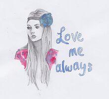 Love me always by MidnightMermaid