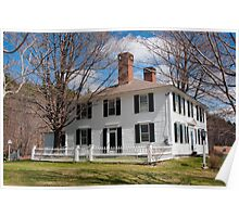 New Hampshire Homestead Poster