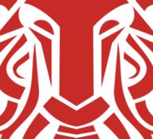 Zodiac Sign Aries Red Sticker