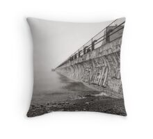 Concrete Monster Throw Pillow