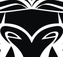 Zodiac Sign Taurus Black Sticker