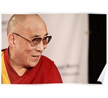 H.H., the 14th Dalai Lama Poster