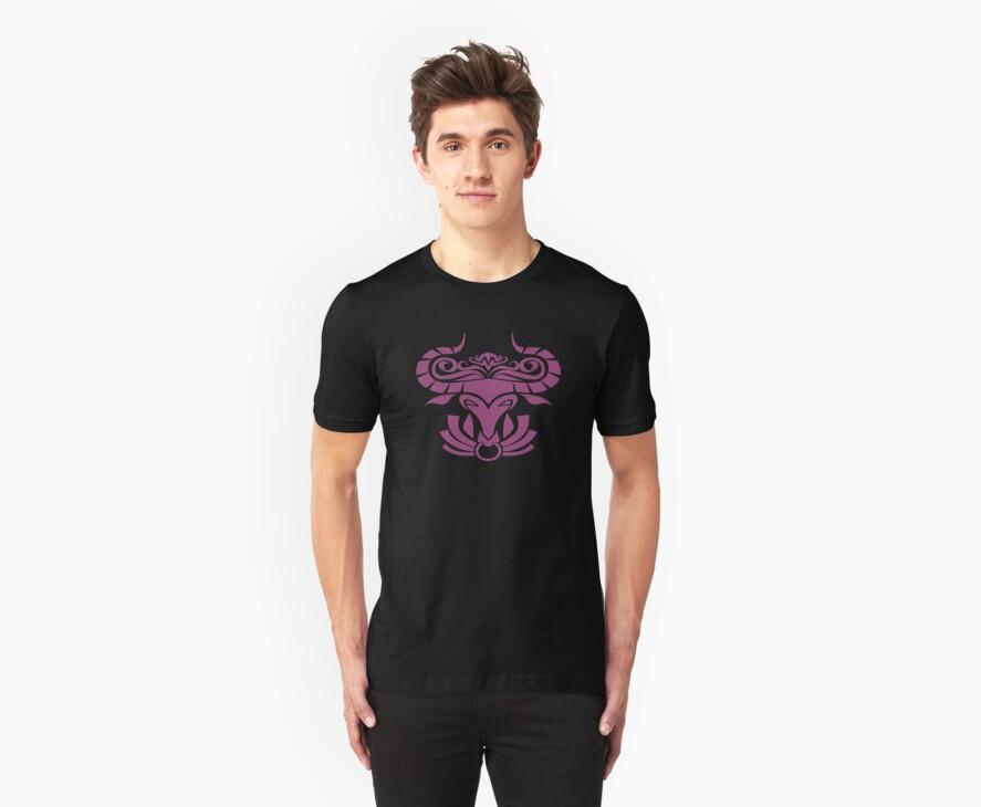 Zodiac Sign Taurus Violet by elangkarosingo
