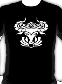 Zodiac Sign Taurus White T-Shirt
