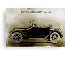 1920 Buick Canvas Print
