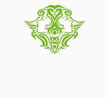 Zodiac Sign Gemini Green Unisex T-Shirt