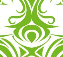 Zodiac Sign Gemini Green Sticker
