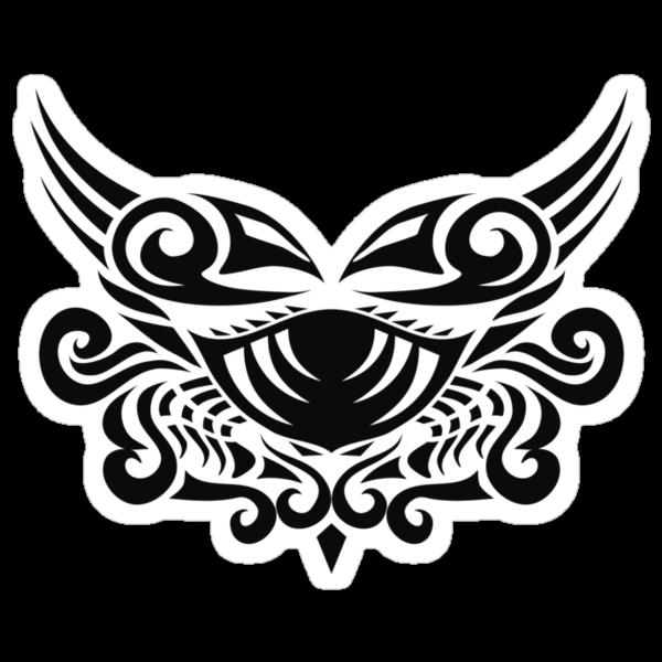 Zodiac Sign Cancer Black by elangkarosingo