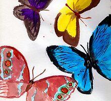 Butterflies by asinglenote