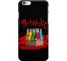 bloody perkoholic iPhone Case/Skin