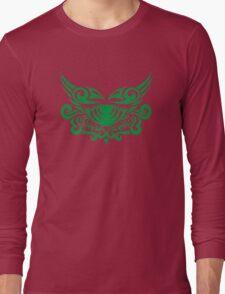 Zodiac Sign Cancer Green Long Sleeve T-Shirt