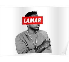 "Kendrick Lamar ""LAMAR"" OBEY Style Poster"