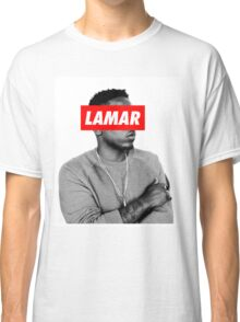 "Kendrick Lamar ""LAMAR"" OBEY Style Classic T-Shirt"