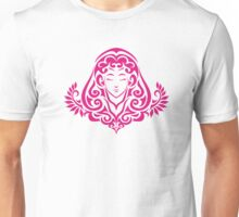 Zodiac Sign Virgo Pink Unisex T-Shirt