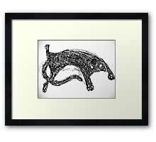 Kitty Love ♥ My Puntin Framed Print