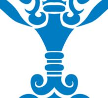 Zodiac Sign Libra Blue Sticker