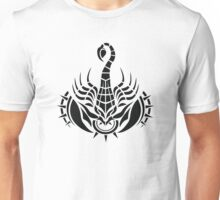 Zodiac Sign Scorpio Black Unisex T-Shirt