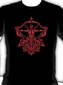 Zodiac Sign Sagitarius Red T-Shirt