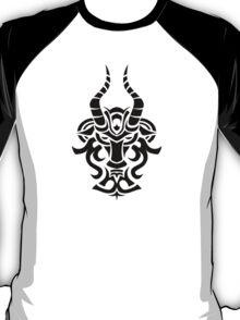 Zodiac Sign Capricorn Black T-Shirt