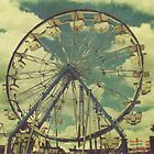 """Spring Time Ferris Wheel"" by eleven12design"