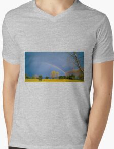 9242015 chasing rainbows Mens V-Neck T-Shirt