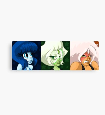 The Homeworld Gems Canvas Print