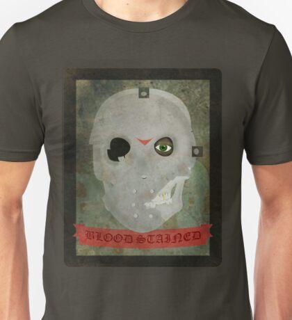 skull / hockey mask with effect Unisex T-Shirt