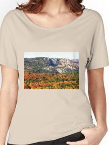 Painted Mountains Women's Relaxed Fit T-Shirt