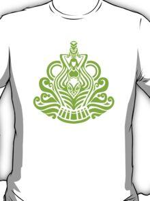 Zodiac Sign Aquarius Green T-Shirt