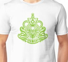 Zodiac Sign Aquarius Green Unisex T-Shirt