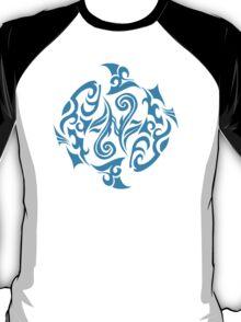 Zodiac Sign Pisces Blue T-Shirt