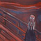 The scream  by sword