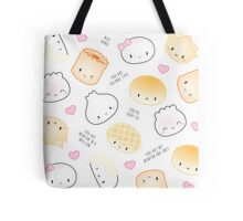 Cute Dimsum Puns Tote Bag