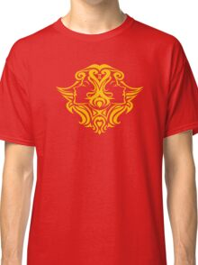 Zodiac Sign Gemini Gold Classic T-Shirt