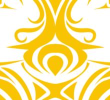 Zodiac Sign Gemini Gold Sticker