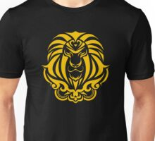 Zodiac Sign Leo Gold Unisex T-Shirt