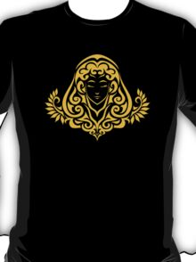 Zodiac Sign Virgo Gold T-Shirt