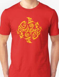 Zodiac Sign Pisces Gold T-Shirt