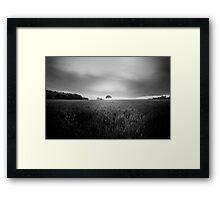 Lone Tree at Deffer Framed Print