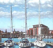 Southampton Ocean Village marina by martyee