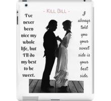 Kill Bill - Wedding Scene iPad Case/Skin