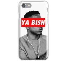"Kendrick Lamar ""YA BISH"" OBEY Style iPhone Case/Skin"