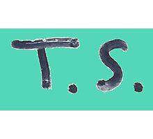 Taylor Swift Signature: T.S. Photographic Print