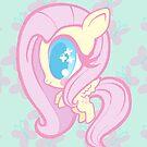 Weeny My Little Pony- Fluttershy by LillyKitten