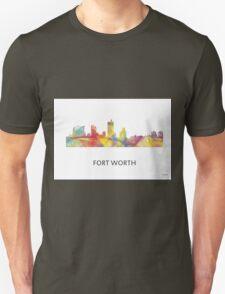 Fort Worth, Texas Skyline WB1 Unisex T-Shirt
