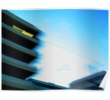 Skyline in Motion, Surfers Paradise Poster