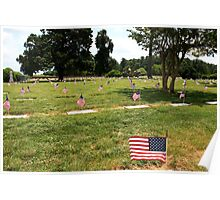Yorktown National Cemetery Poster