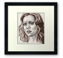 Tabula Rasa - Willow - Buffy S6E8 Framed Print